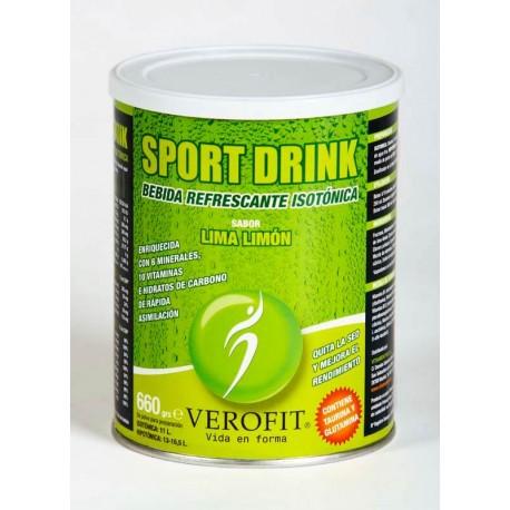 SPORT DRINK BEBIDA ISOTÓNICA -LIMA LIMON (660 gr)