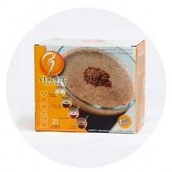 BATIDO SABOR CAFÉ CON LECHE (21 SOBRES)