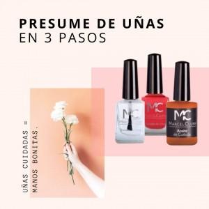 PRESUME DE UÑAS EN 3 PASOS